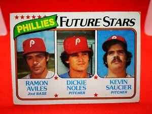 Topps 1980 carte card Baseball MLB NM+/M #682 Phillies Future Stars