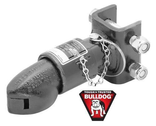 "Bulldog Collar-Lok Trailer Coupler 2/"" Ball 7K Adjustable Channel Mount w// Pin"