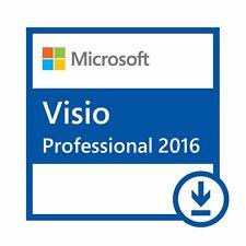 Ms Microsoft Visio Professional 2016   Ms Visio   Digital Key and Download Link