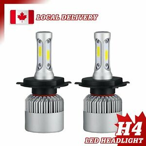 2x H4 HB2 9003 LED Headlight Kit 240W 6000K 36000LM Hi/lo Beam Bulbs For Toyota