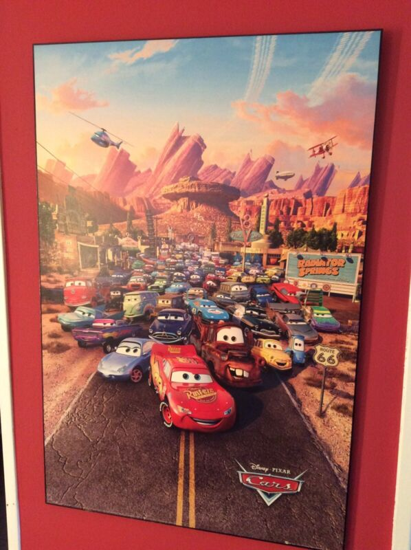 Block mounted CARS POSTER