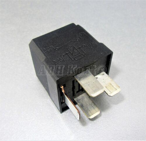 Vauxhall opel multi-usage 4-Pin noir relais gm 13171831 623864 hella 4RA007791-05
