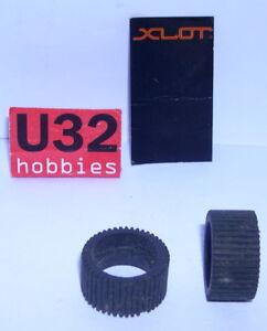 Kinderrennbahnen Intellective Ninco Xslot Reifen 24.2x11.6mm Gestreift Handwerklich 2 Stücke