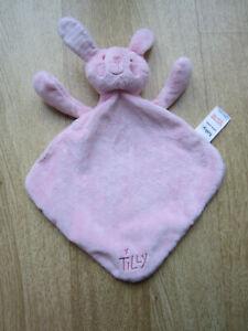 Tesco Tilly Pink Bunny Rabbit Comforter Blanket Retired