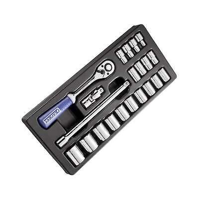 "Britool E194677b 23 Pc 1/2"" Drive Socket Set 8-32mm Module"