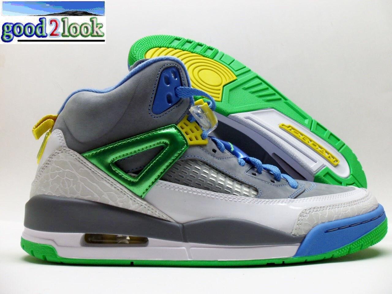 Nike basketball jordan spizike basketball Nike stealth / green-Blau größe männer 10,5 [315371-056] 4a442d