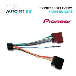 pioneer 16 pin iso wiring harness loom adaptor wire radio image is loading pioneer 16 pin iso wiring harness loom adaptor