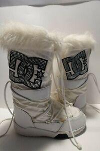 Women's DC Shoes White Chalet Sparkle