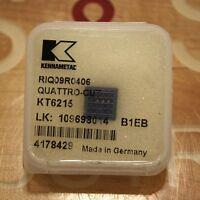 Kennametal Riq09r0406, Kt6215, 4178429 Quattro-cut Insert -