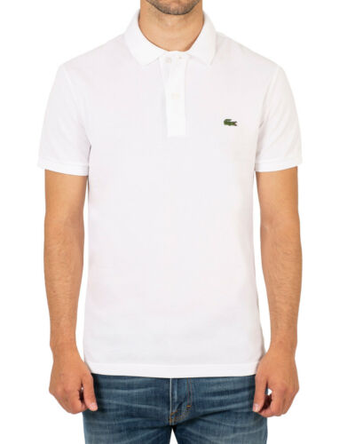 NEW Lacoste Polo Shirt Slim Fit Classic Pique Polo PH4012 NEW Authentic