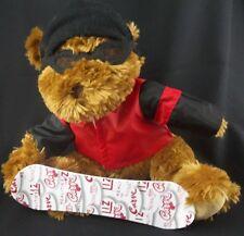 Liz Claiborne Cosmetics SNOWBOARD BEAR Plush Snowboarding Stuffed Animal