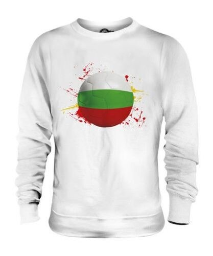 BULGARIA FOOTBALL UNISEX SWEATER TOP GIFT WORLD CUP SPORT
