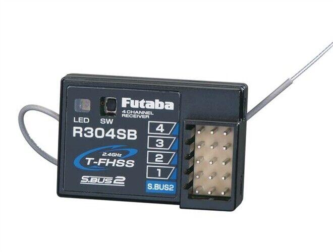 Futaba R304SB 4-Ch S.BUS2 2.4GHz T-FHSS telemetría receptor FUT-01102179-3