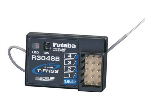Futaba R304SB 4-Ch S.BUS2 2.4GHz T-FHSS Telemetry Receiver FUT-01102179-3