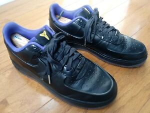 37c8b040a8d2f 2011 Nike Air Force 1 Foamposite Low sz 9.5 KOBE BRYANT BLACK MAMBA ...