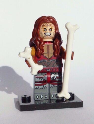 100/% LEGO Ozzy Osbourne BARK AT THE MOON FIGURE w bones /& stand custom rocker