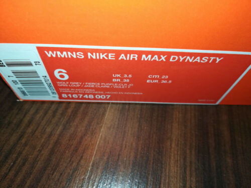 Air Grigio Sport Womens 5 Max Nike 007 Wmns Sneakers Gr Scarpe 36 Dynasty 816748 H1w4aqfx