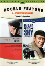 One Eyed Jacks / Island in the Sky - DVD Twin Pack -  John Wayne / Marlon Brando