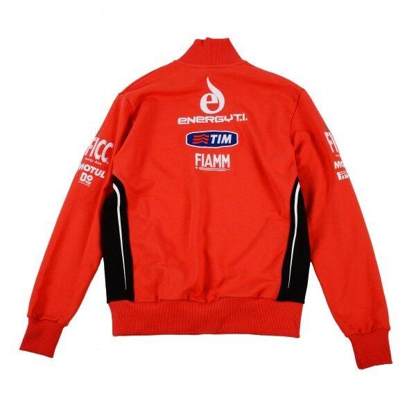 Neu Offiziell Team Alstare Ducati rot Vlies mit Reißverschluss Reißverschluss Reißverschluss 44daae