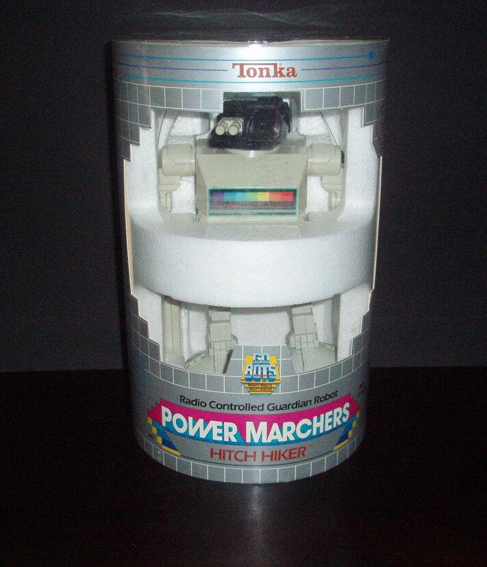 VINTAGE 1986 HITCH HIKER GOBOT GOBOT GOBOT GOBOTS POWER MARCHERS MIB TONKA 100%COMPLETE 98b977