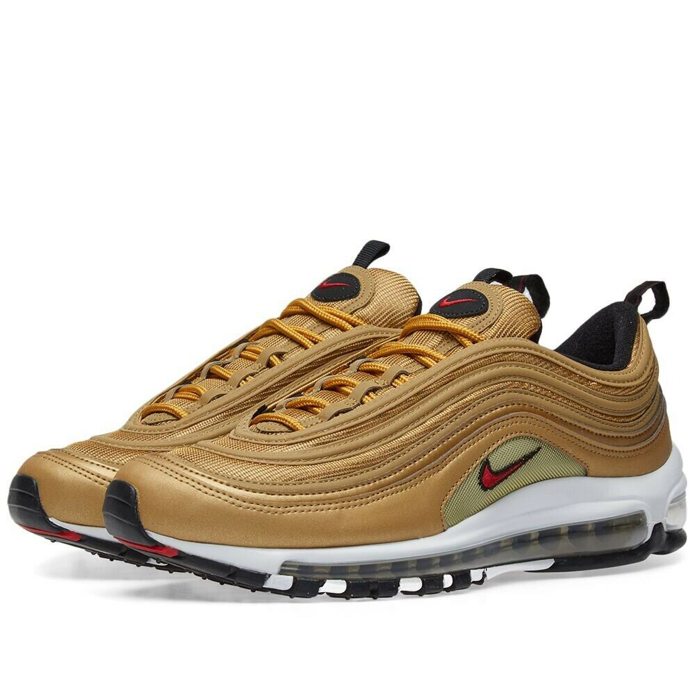 Nike Air Max 97 OG QS 'gold Bullet' Trainers Women's Uk Size 5.5 39 885691 700
