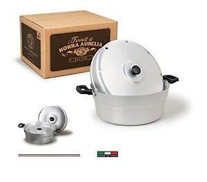 Agnelli-034-Fornetto-in-alluminio-034-tortiera-034-Versilia-034-cm-26-made-in-Italy
