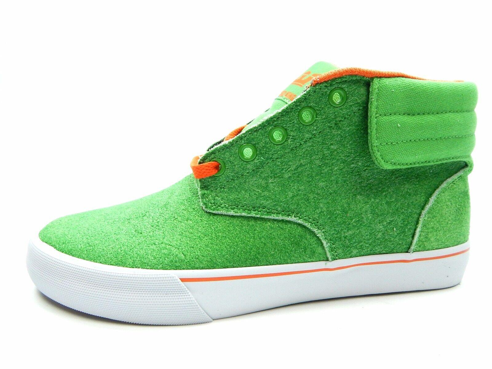 Supra Passion verde Naranja blancooo Zapatos para hombres
