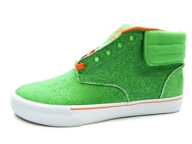 4a42c61325c SUPRA Passion Lizard King Pro Am Green Suede Limited Edition Shoes ...