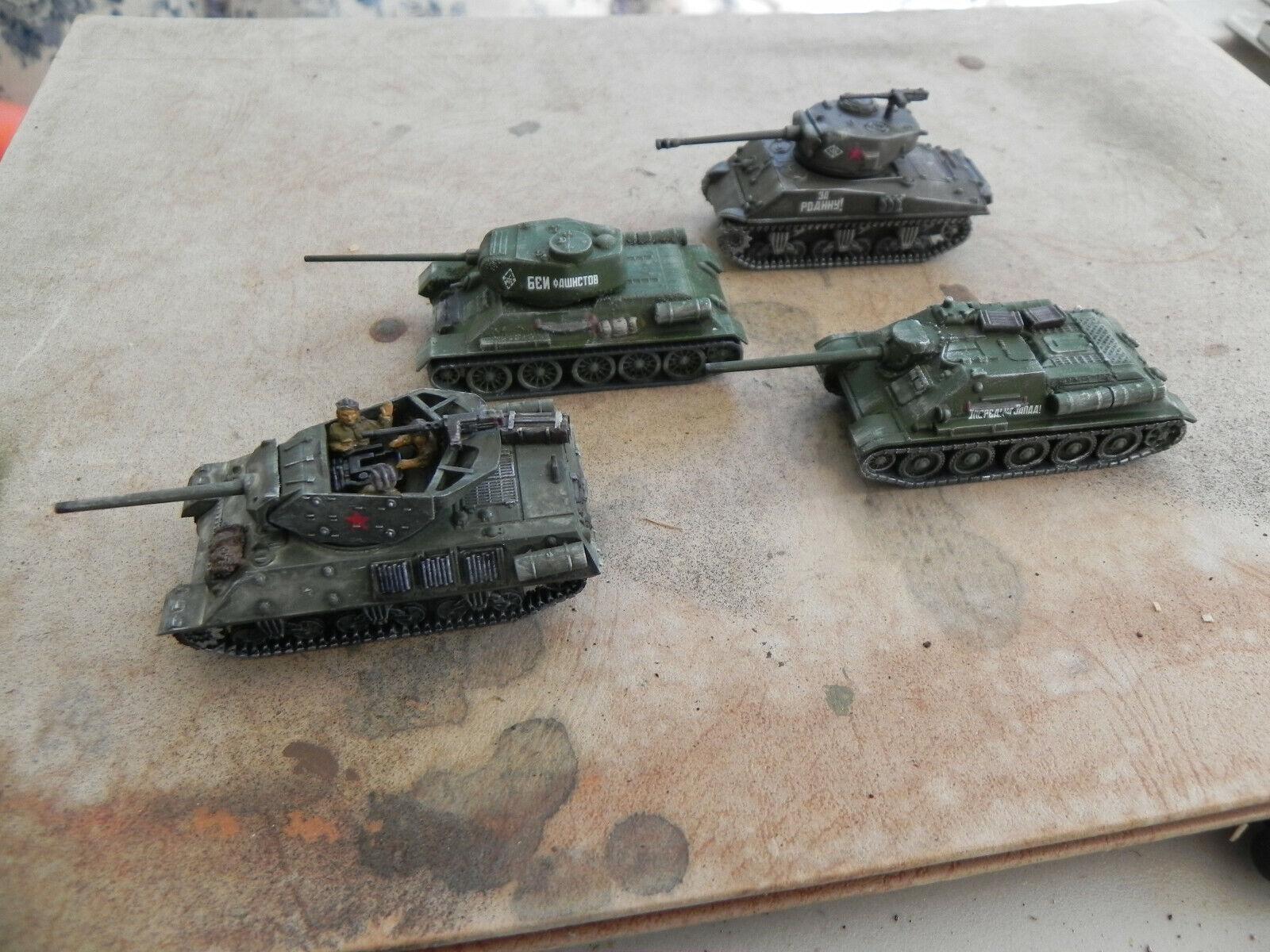 Flames of war     Russian M-10 LL ; M4A2 76mm LL ; Su 85 ; T34 85 62c902