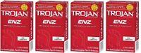 Trojan Enz Non-lubricated Condoms 4 Pack = 48 Condoms on sale