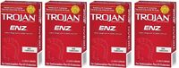 Trojan Enz Non-lubricated Condoms 4 Pack = 48 Condoms