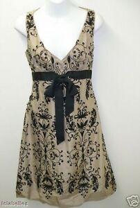 New-ELIE-TAHARI-Tinder-MIRI-Silk-Cocktail-Dress-Soutache-Detail-2-598-NWT