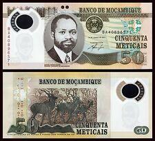 Mozambique  50 Meticais  16-6-2011  Pick 150  SC = UNC