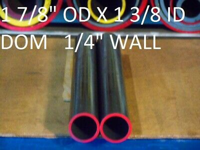 "72/""  LONG E0106 DOM ROUND STEEL TUBE  1.875/"" OD  X   1.375/""  ID .250 WALL"