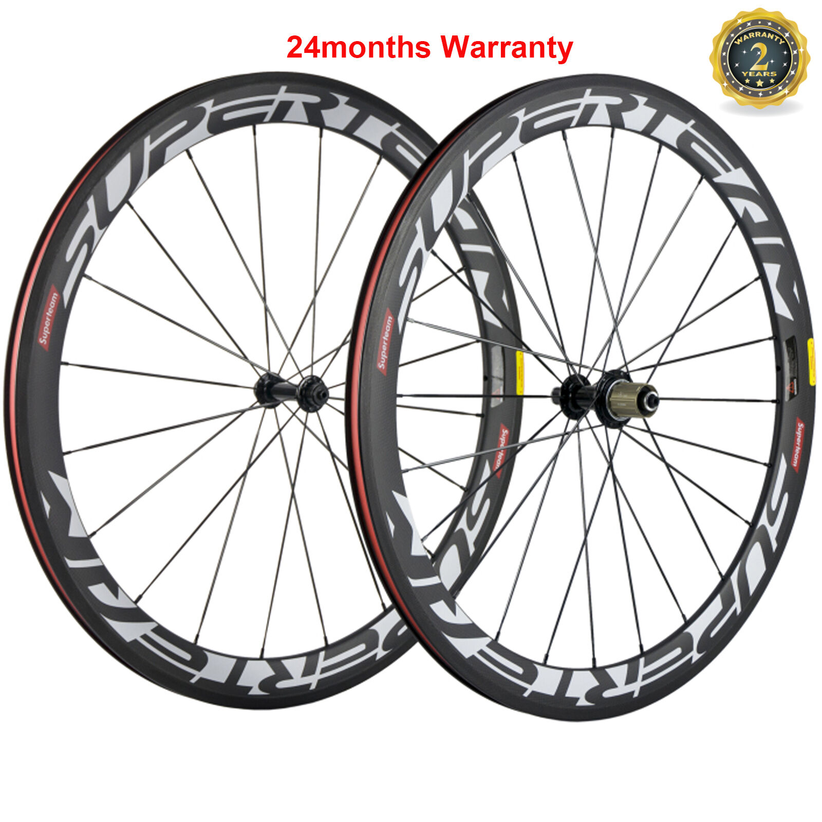 Carbon Wheels 50mm Clincher  Road Bike Wheelset Shimano Powerway Cycle Race Wheel  wholesale