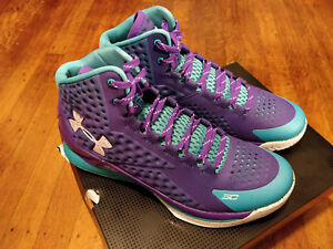 17ad008bc658 New Under Armour CHARGED FOAM Curry 1 Father To Son 1258723 478 ...