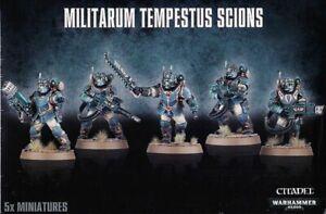 Scions-Militarum-TEMPESTUS-Warhammer-40K-tambien-construye-comando-escuadron-5-Astra-matar