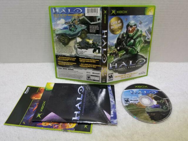 Halo: Combat Evolved (Microsoft Xbox, 2001), CIB, getestet funktioniert sehr schön ansehen!
