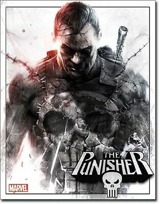 Marvel Comics The Punisher TIN SIGN metal poster home bar garage wall decor 2077