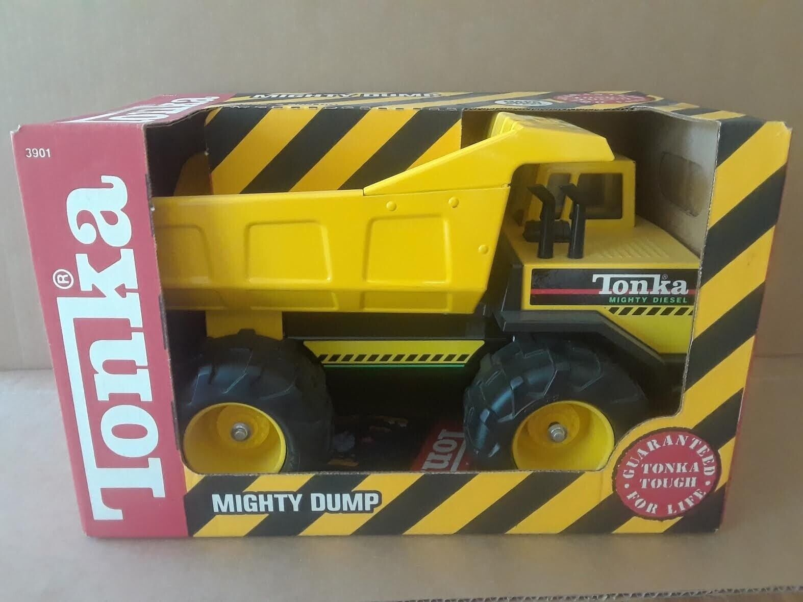 Vintage 1991  TONKA Mighty Diesel Camion benne  No.3901 Comme neuf NEUF