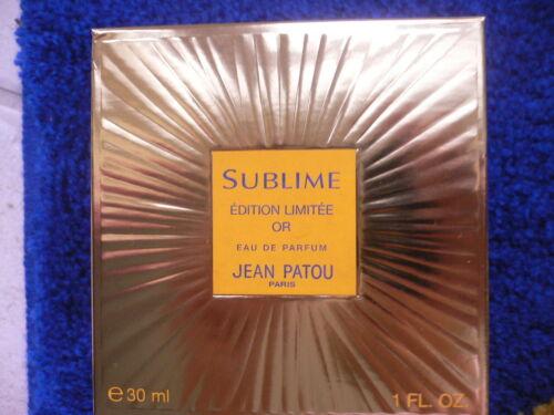 Jean Patou Sublime Goldedition, EdP 30 ml, neu Rarität  VOPa7 5ivXM
