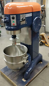 Image Is Loading Hobart 60 Qt Mixer With Bowl Paddle Dough