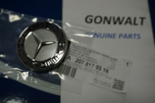 2078170316 Mercedes Benz OE Factory Hood Grill Badge Emblem Logo