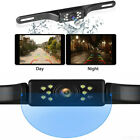 9 LED Backup Camera Waterproof License Plate Night View Vision Car Reverse Rear