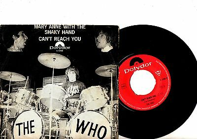 THE WHO 7'' PS Can't Reach You HOLLAND ONLY SUPER RARE Polydor S 1256 DUTCH 45