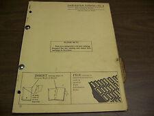 12077 John Deere Parts Catalog PC-381 Harvester Forage model 8 dated 5 62