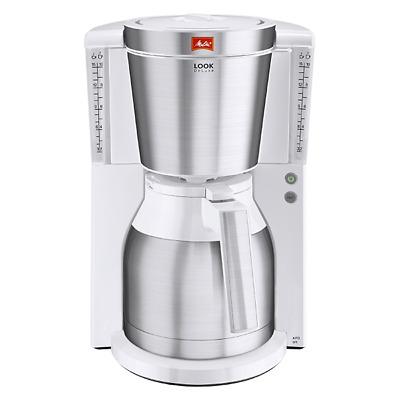 Melitta Look Therm DeLuxe 1011-13 Kaffeemaschine weiß