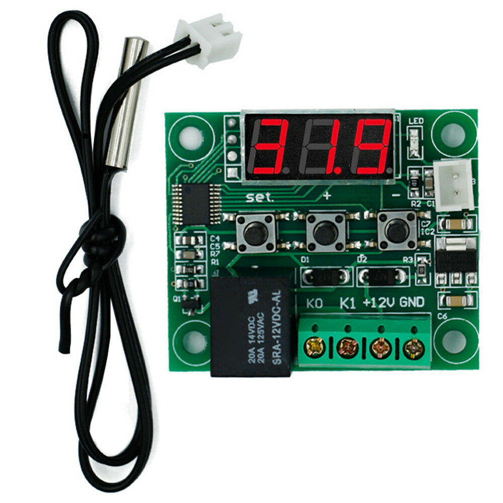 110℃ Digital Thermostat Temperature Controller Switch 12v CAR Water Tanks 50℃