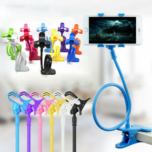 Universal-Lazy-Bed-Desktop-Stand-Mount-Car-Holder-For-Cell-Phone-Long-Arm