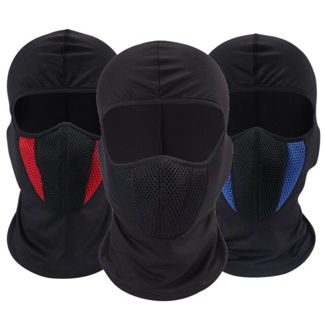 Winter Hat Windproof Face Mask for Men and Women Balaclava Ski Mask Black